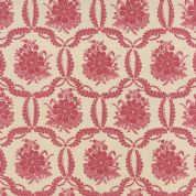 Moda Ville Fleurie by French General - 4742 - Honfleur, Rose Floral on Cream  - 13763 21 - Cotton Fabric